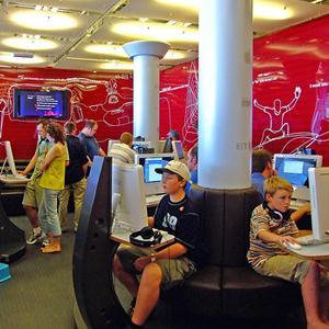 Интернет-кафе Красной Горбатки