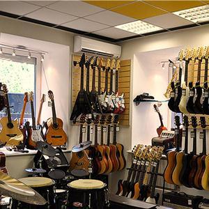 Музыкальные магазины Красной Горбатки